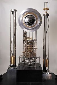 The 10,000 Year Clock prototype currently operates in the Science Museum of London. See more amazing timepiece pictures.