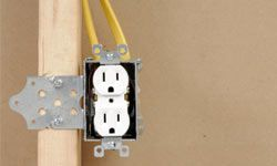 Installing wiring within a green material like Insulating Concrete Form can be a problem for inspectors who aren't familiar with it.