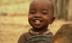 Ponijao lives in Namibia and stars in the documentary, Babies.