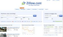 Zillow.com offers tools to both real estate professionals and homeowners.