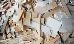 Scraps of drywall can be used for wall patches, and also mixed with soil as a nutrient-rich food source for plants.