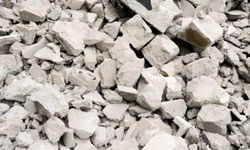 Concrete and masonry is easy to recycle, and nearly 140 million tons of it is crushed and reused each year.