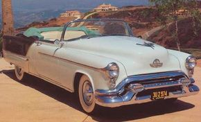 Image Gallery: Sports Cars The wraparound windshield is just one of Harley Earl's many innovations. See more pictures of sports cars.