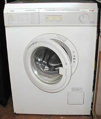 The first electric washing machine was released in 1907.