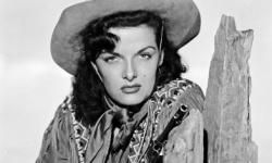 """American actress Jane Russell stars as Wild West sharpshooter Calamity Jane in """"The Paleface."""""""