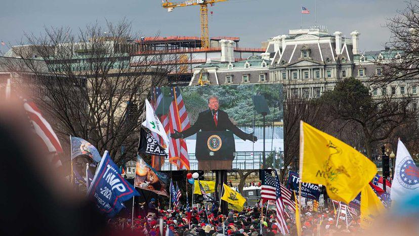 trump rally Jan. 20, 2021
