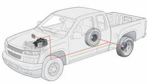Image Gallery: Trucks Traction control systems limit power to the drive wheels to prevent wheel spin under acceleration. See pictures of trucks.