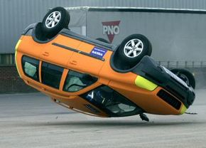 Because of a higher center of gravity, SUVs are more prone to rollover accidents than typical sedans.