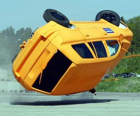 Many SUVs have roll-stability control systems that work to prevent rollover accidents.