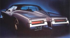 GM styling honcho William Mitchell determined that the 1971 Riviera would be different and daring -- and indeed it was, due mainly to the boattail design up back.
