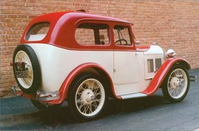 """Swallow produced about 1,700 of these """"Saloon"""" bodies through 1932."""