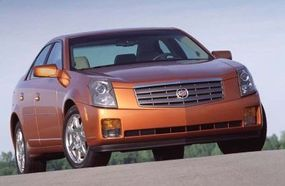 Attractive pricing helped propel sales of the 2003 Cadillac CTS.