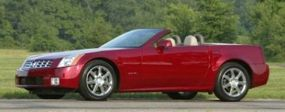 Pictured here is the 2004 Cadillac XLR, another member of Cadillac's new fleet for the new millennium.