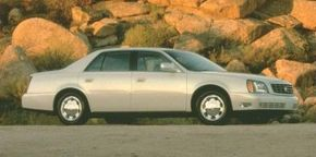 The 2000 Cadillac DeVille was redesigned wth more interior space.