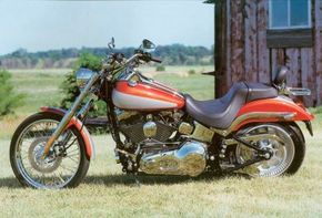 The 2000 Harley-Davidson FXSTD Deuce is highly sought after by motorcycle fans. See more motorcycle pictures.