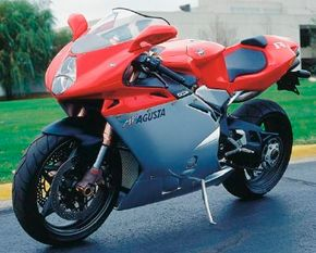 The 2000 MV Agusta F4 Strada marked the return of the hallowed MV Agusta name to the motorcycle world. See more motorcycle pictures.
