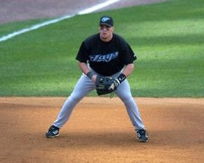 Eric Hinske was the 2002 American League Rookie of the Year. See more baseball seasons pictures.