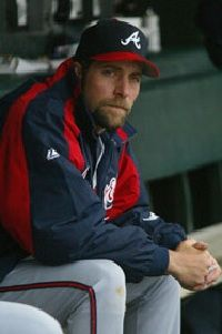 John Smoltz saved 55 games in 2002.