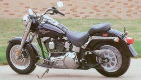 The 2002 Harley-Davidson FLSTF Fat Boy underwent changes that were mainly mechanical.