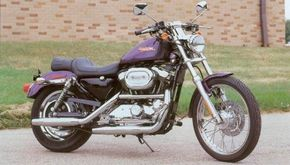 The 2002 Harley-Davidson XL-1200C Sportster looks much like it did when the model debuted in 1996. See more motorcycle pictures.