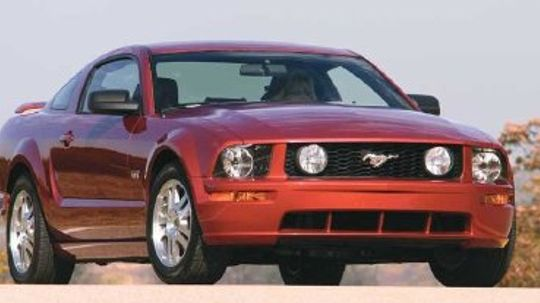 2005 2006 2007 Ford Mustang