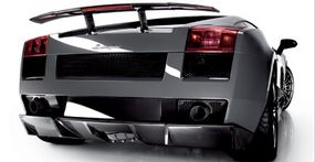 The 2007 Lamborghini Gallardo Superleggera has a top speed of 195 mph and does 0-60 mph in a claimed 3.8 seconds.