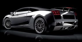 """The Superleggera means """"superlight"""" in Italian and features a midships-mounted V-10 engine and all-wheel drive."""