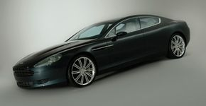 The Aston Martin Rapide is based on the DB9.