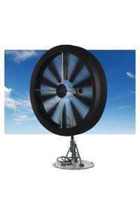 This Honeywell Wind Turbine creates electricity even in very slow wind speeds.