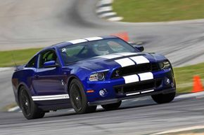 The 2013 Ford Shelby GT500 on-track at Road Atlanta. Want to learn more? Check out these Future Sports Car Pictures!