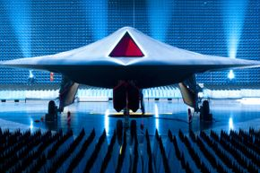 BAE's Taranis unmanned combat air vehicle took to the air for the first time in 2013. The Taranis is designed to be speedier than existing UAVs, like the Predator and Reaper.