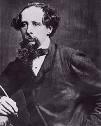 """Charles Dickens, author of the classic novel """"A Tale of Two Cities."""""""