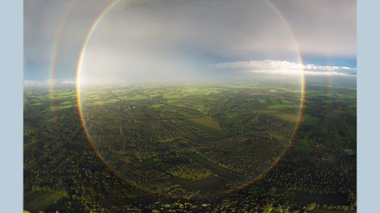 If Rainbows Are Circular, Why Do We Only See Arches?