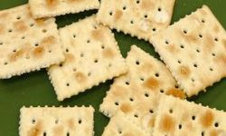 Reach for salted crackers, nuts or pretzels if you are dehydrated.