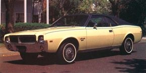 Many buyers opted for the more up-market Javelin SST for 1968.