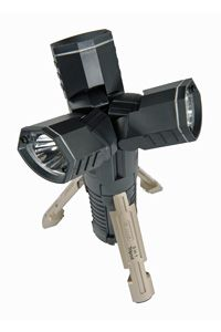 Stanley's 3-in-1 Tripod puts three LED lights into a single package. Each light can be separated from the others.