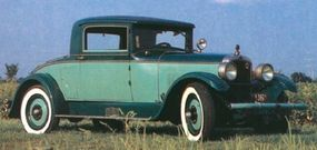 This Nash Advanced Six Coupe is in near-original condition.