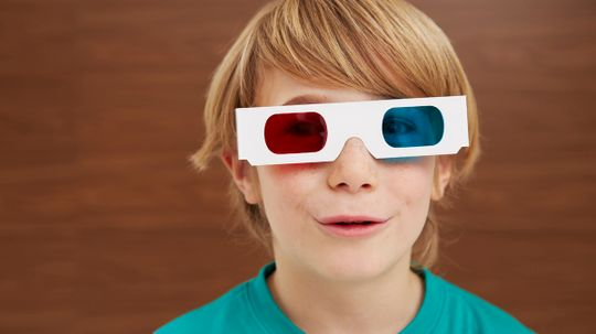 Why aren't 3-D glasses red and blue anymore?
