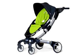 The 4moms Origami stroller is sort of like a luxury car for someone who can't drive yet.