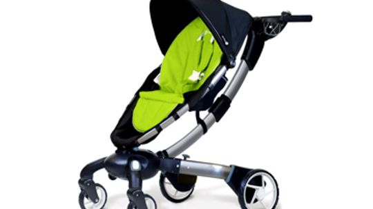How the 4moms Origami Stroller Works