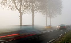 Fog can make it feel like you're moving slower than you actually are.