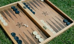 Backgammon introduces an element of chance with dice rolls but that hasn't stopped computers from beating humans.