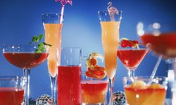 Who can resist a colorful drink with a little umbrella in it? Your kids will love these nonalcoholic cocktails. See more pictures of kid-friendly recipes.