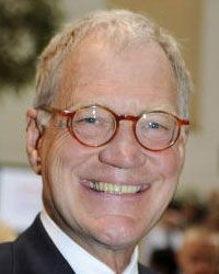 David Letterman at the opening of the Ronald O. Perelman Heart Institute in 2009