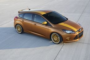 This Focus, by Anaheim Calif.-based FSWerks, delivers plenty of performance upgrades -- including an FSWerks cold air intake.