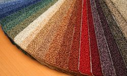 Go green with carpet made from recycled products.