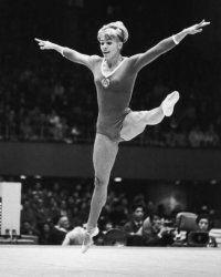 Larisa, performing at the 1964 Olympics