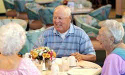 Most assisted living facilities offer a variety of menu options for different tastes and dietary needs.