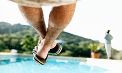 Flip-flops are fine when you're lounging around the pool all day, but for other activities, these casual shoes won't cut it.