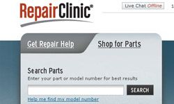 """Sites like RepairClinic.com will help you be """"parts smart."""""""